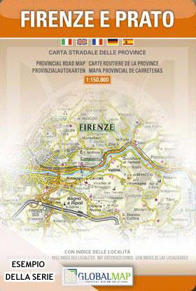 Cartina Geografica Di Viterbo E Provincia.Provincia Di Viterbo Carta Geografica Turistica E Stradale