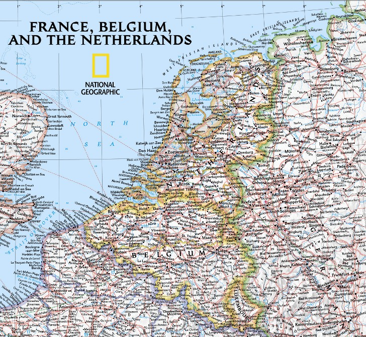 France Belgium Netherlands clic political - wall ... on geographical map norway, geographical map hungary, physical map europe belgium, geographical map ireland, aerial photograph of belgium, physical characteristics of belgium, geographical map portugal, detailed map belgium, geographical map romania, geographical map denmark, geographical map finland, major rivers of belgium, geographical map germany,