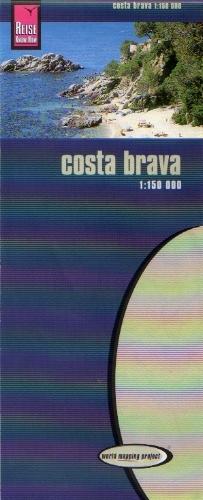 Cartina Geografica Spagna Costa Brava.Costa Brava Carta Geografica Toristica E Stradale