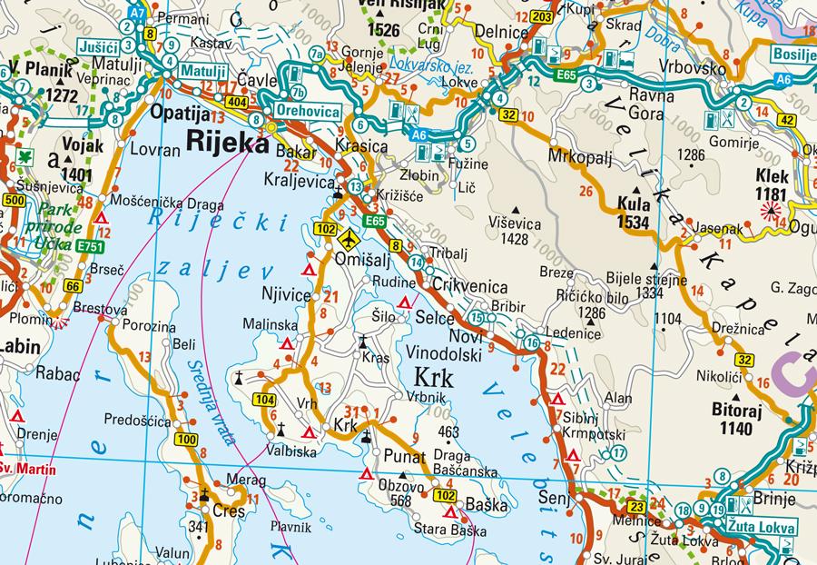 Cartina Slovenia Stradale.Balcani Occ Albania Bosnia Croazia Serbia Slovenia Altre Carta Geografica Toristica E Stradale