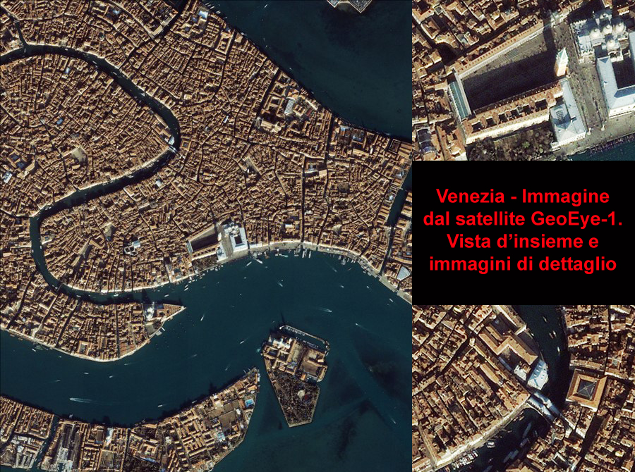 GeoEye-1 real time - Satellite image