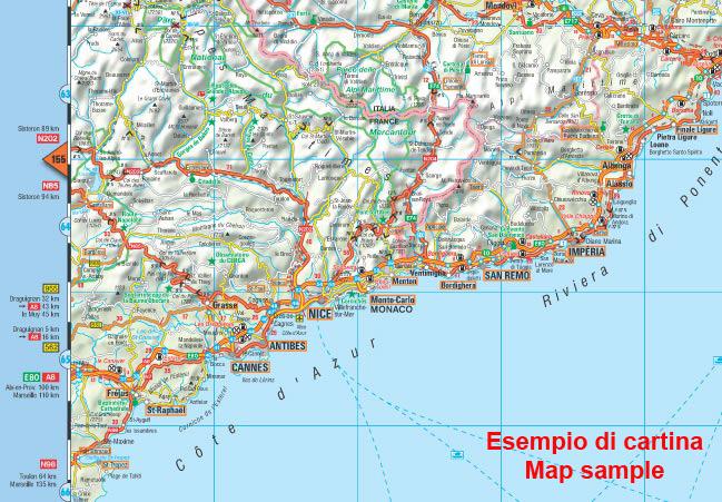 Norvegia Cartina Stradale.Sud Africa Carta Geografica Turistica E Stradale