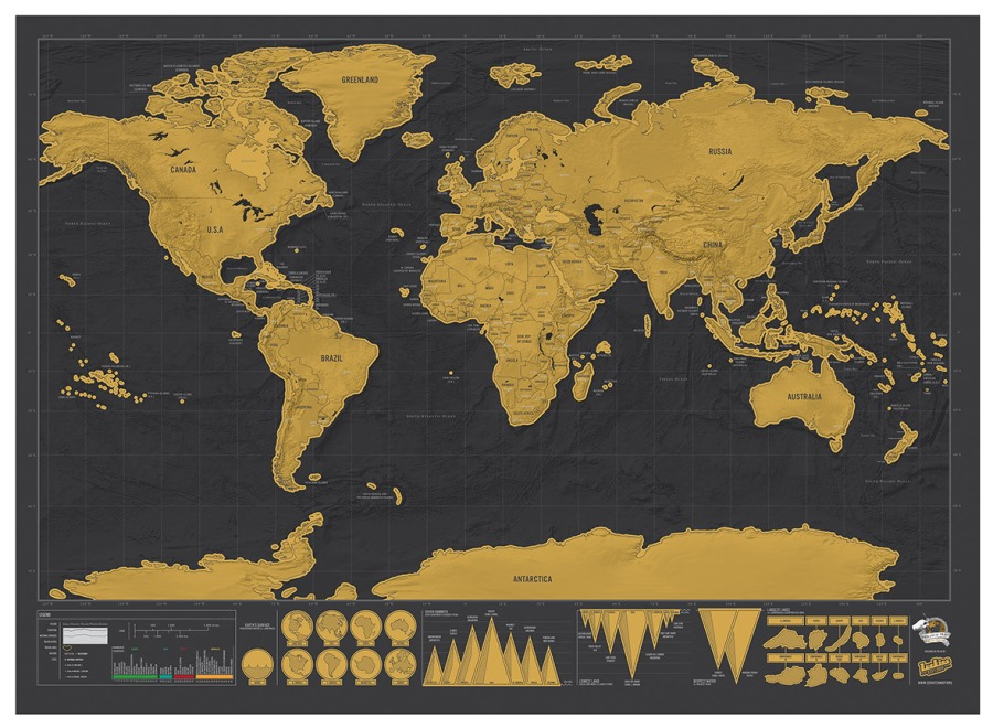 Scratch map deluxe the world gumiabroncs Images