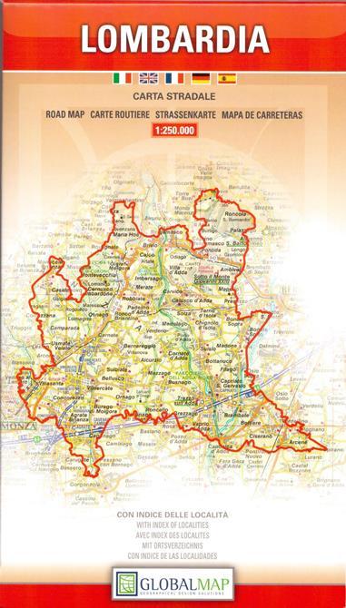 Cartina Autostradale Della Lombardia.Regione Lombardia Carta Geografica Turistica E Stradale