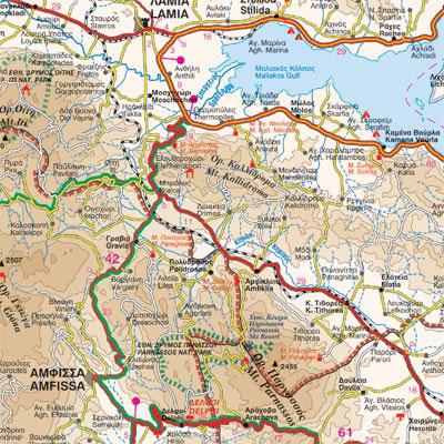 Paxos Cartina Geografica.Paxos Antipaxos Carta Geografica